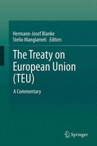 Cover The Treaty on European Union (TEU)