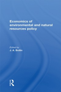 Cover Economics Of Environmental And Natural Resources Policy