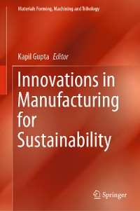 Cover Innovations in Manufacturing for Sustainability