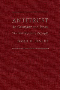 Cover Antitrust in Germany and Japan