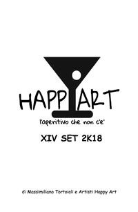 Cover Happy Art l'aperitivo che non c'è XIV SET 2K18