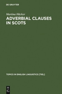 Cover Adverbial Clauses in Scots
