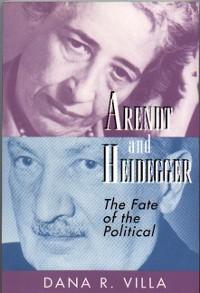 Cover Arendt and Heidegger