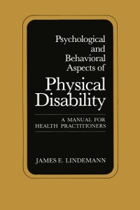 Cover Psychological and Behavioral Aspects of Physical Disability