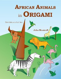 Cover African Animals in Origami