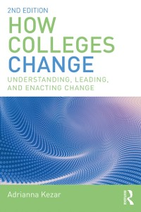 Cover How Colleges Change
