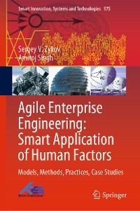 Cover Agile Enterprise Engineering: Smart Application of Human Factors