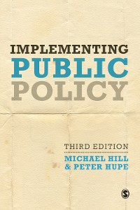 Cover Implementing Public Policy