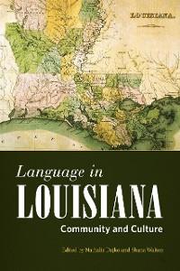 Cover Language in Louisiana