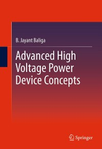 Cover Advanced High Voltage Power Device Concepts