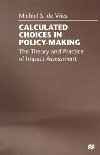 Cover Calculated Choices in Policy-Making
