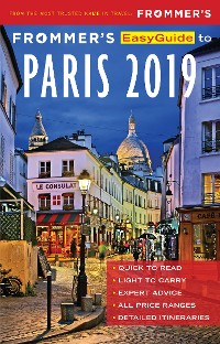 Cover Frommer's EasyGuide to Paris 2019