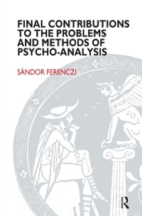 Cover Final Contributions to the Problems and Methods of Psycho-analysis