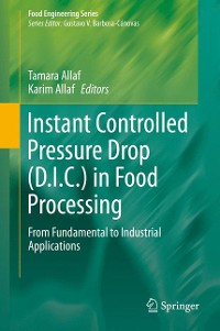 Cover Instant Controlled Pressure Drop (D.I.C.) in Food Processing