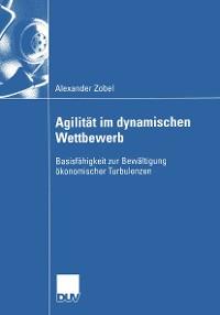 Cover Agilität im dynamischen Wettbewerb