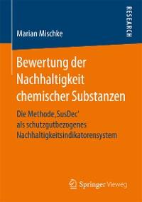 Cover Bewertung der Nachhaltigkeit chemischer Substanzen