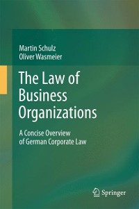 Cover The Law of Business Organizations