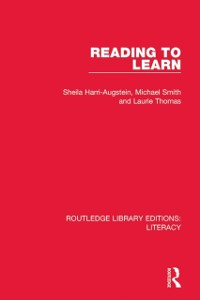 Cover Reading to Learn