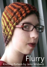 Cover Flurry Short Row Hat Knitting Pattern