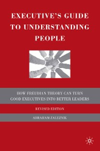 Cover Executive's Guide to Understanding People