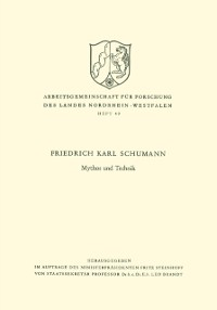 Cover Mythos und Technik