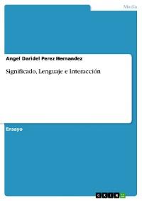 Cover Significado, Lenguaje e Interacción