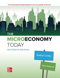 Cover ISE eBook Online Access for The Micro Economy Today