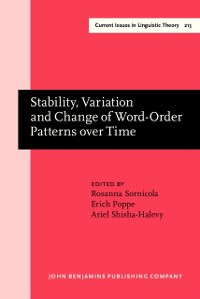Cover Stability, Variation and Change of Word-Order Patterns over Time