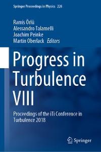 Cover Progress in Turbulence VIII