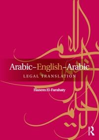 Cover Arabic-English-Arabic Legal Translation