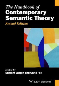 Cover The Handbook of Contemporary Semantic Theory