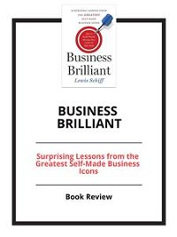 Cover Business Brilliant
