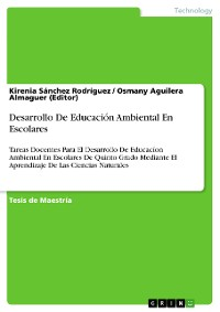 Cover Desarrollo De Educación Ambiental En Escolares