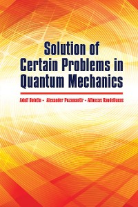 Cover Solution of Certain Problems in Quantum Mechanics