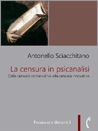 Cover La censura in psicanalisi