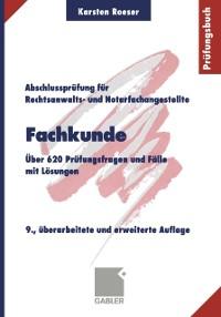 Cover Fachkunde