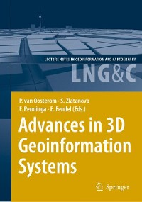 Cover Advances in 3D Geoinformation Systems