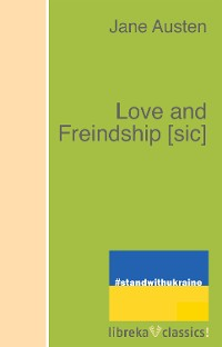 Cover Love and Freindship [sic]