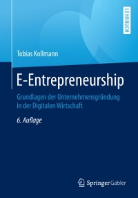 Cover E-Entrepreneurship
