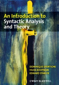 Cover An Introduction to Syntactic Analysis and Theory