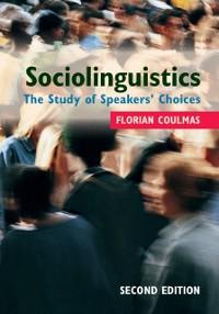 Cover Sociolinguistics