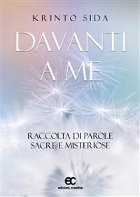 Cover DAVANTI A ME. Raccolta di parole sacre e misteriose