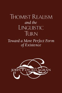 Cover Thomist Realism and the Linguistic Turn