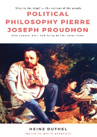 Cover Political Philosophy Pierre Joseph Proudhon