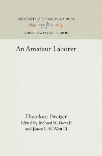 Cover An Amateur Laborer