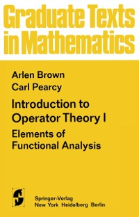 Cover Introduction to Operator Theory I