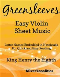 Cover Greensleeves Easy Violin Sheet Music