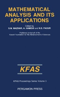 Cover Mathematical Analysis and Its Applications
