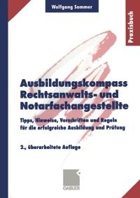 Cover Ausbildungskompass Rechtsanwalts- und Notarfachangestellte