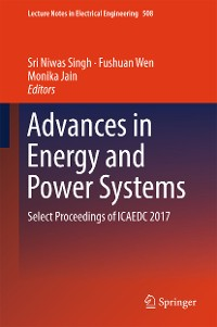 Cover Advances in Energy and Power Systems